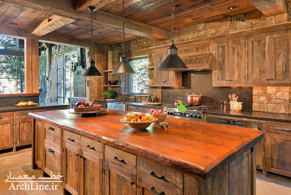 mountain-rustic-kitchen-industrial-lamp