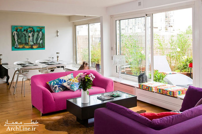 pink-and-purple-sofa-combination