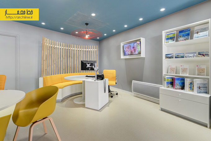 for Interior design travel agency office