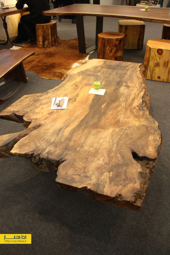 Unfinished-wood-slab-coffee-table
