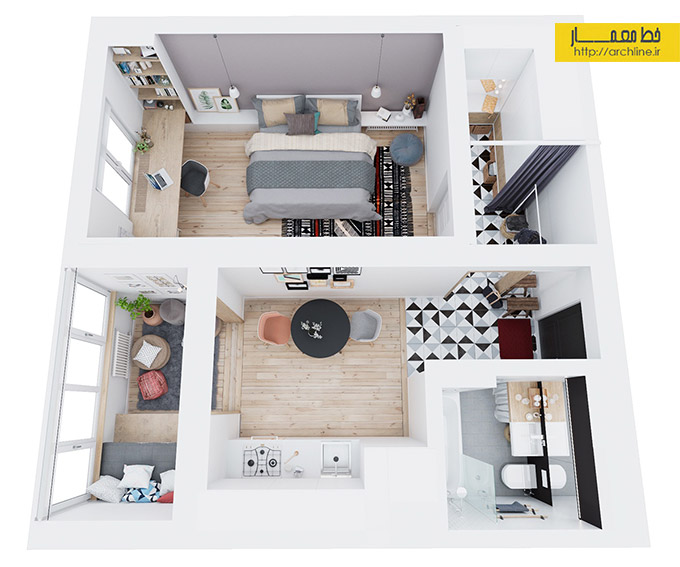 above-floorplan-apartment-three