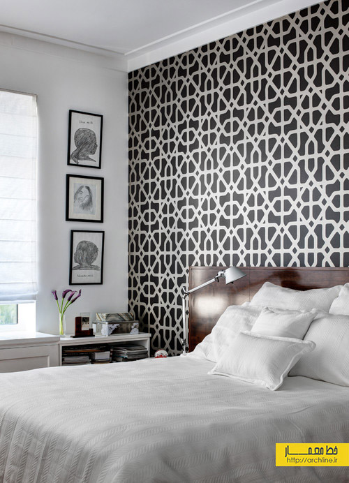 9h-Master-Bedroom-Black-and-White-Accent-Wall