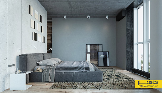 cool-grey-industrial-bedroom-design