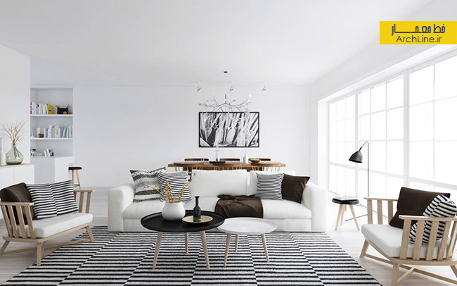 area-rug-black-stripes