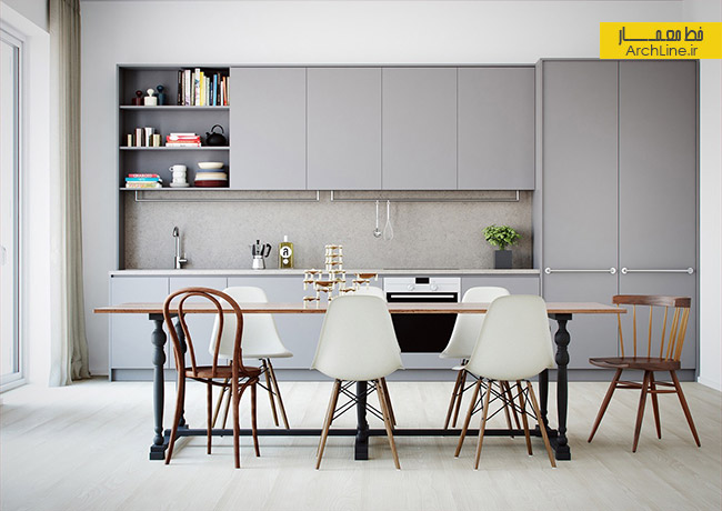 light-grey-and-white-kitchen-open-plan