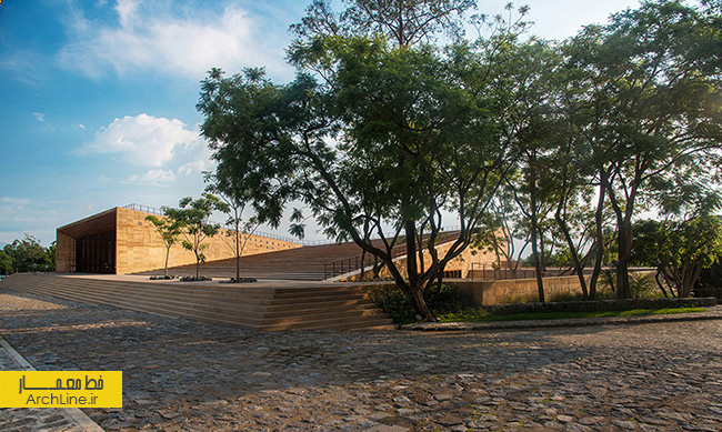 teopanzolco cultural center by isaac broid + productora