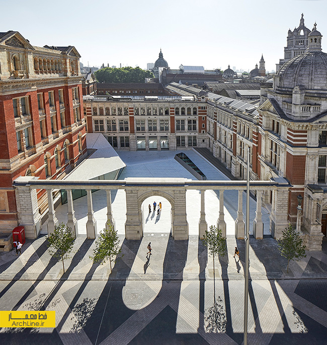 V&A museum road extension by AL_A