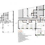 پلان طراحی داخلی دفتر اداری شرکت شیشه ونوس
