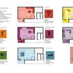 پلان طراحی خانه ۴۵ متری