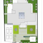 پلان روف گاردن خانه شماره ۳ شیراز