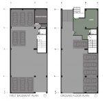 پلان معماری آپارتمان مسکونی بوستان