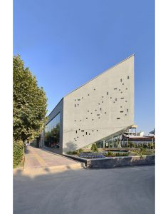 معماری رستوران بتنی کانکریت