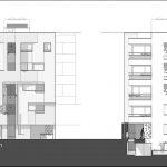 سکشن معماری ساختمان ملک