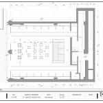 پلان طراحی داخلی فروشگاه کفش