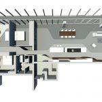 کانسپت طراحی داخلی پنت هاوس