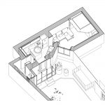 پلان طراحی داخلی آپارتمان کوچک
