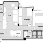 پلان طراحی داخلی آپارتمان