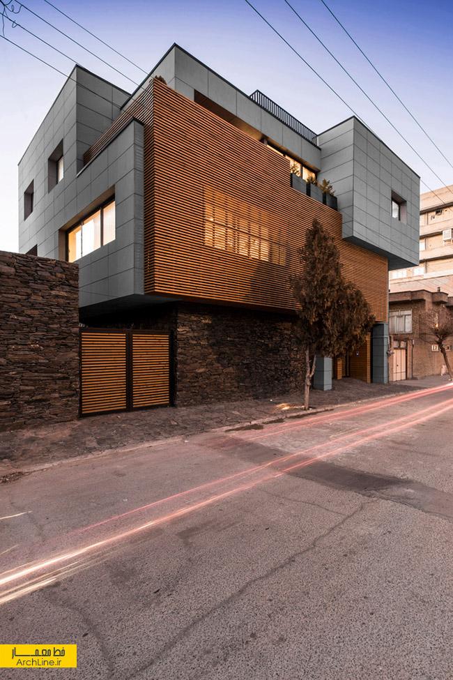 معماری خانه امینی