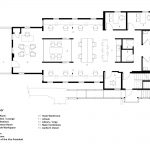 پلان طراحی داخلی دفتر کار مدرن