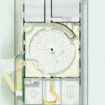 پلان طراحی داخلی رستوران