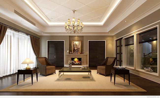 رنگ قهوه ای در فضای داخلی