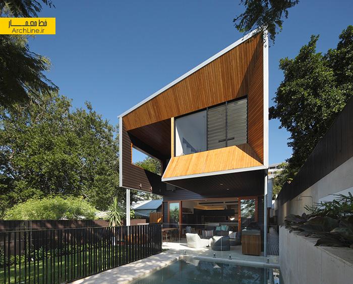 حجم معماری در طراحی ویلا