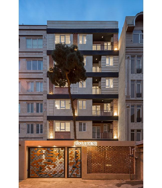 نماهای مدرن ساختمان های ایرانی
