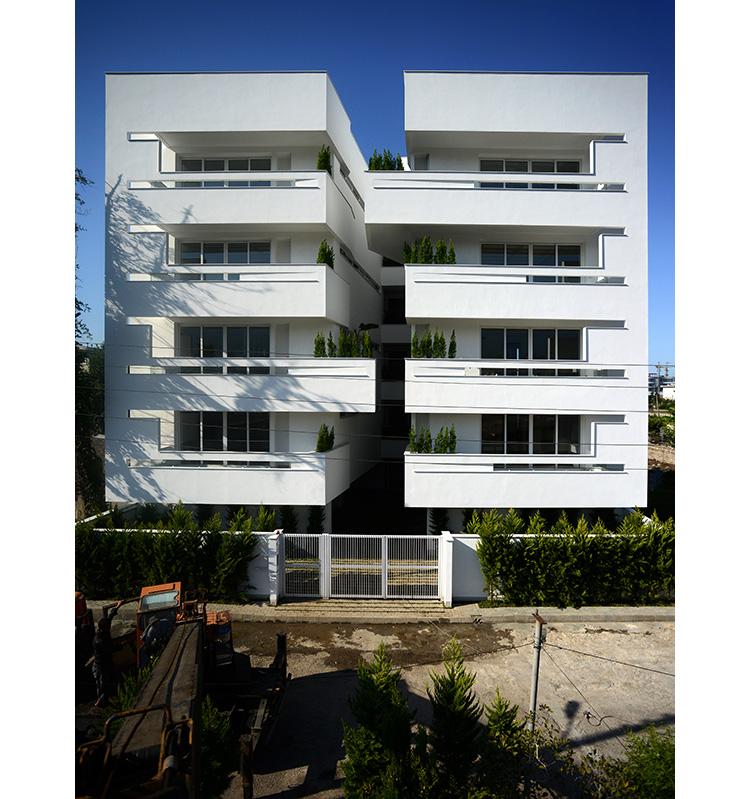 معماری ساختمان مسکونی دریاگوشه
