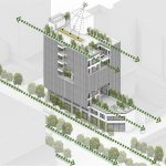 معماری و طراحی ساختمان اداری کارخانه