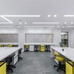 طراحی داخلی آزمایشگاه بهار