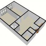 ایده پلان دفترکار معماری