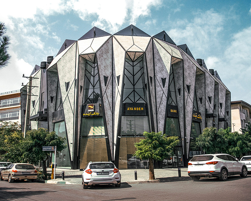 معماری مجتمع تجاری الماس مهرشهر