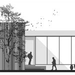 طراحی گالری و شوروم کابینت