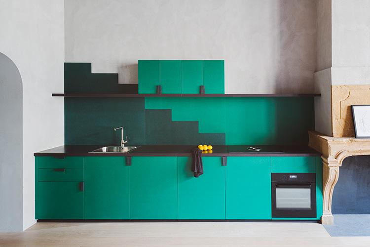 بازسازی و طراحی آپارتمان کوچک