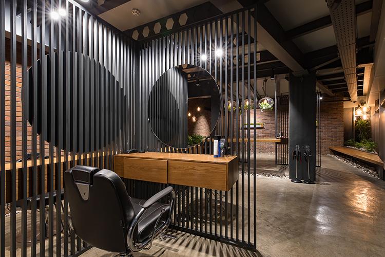 ایده برای دکوراسیون آرایشگاه مردانه