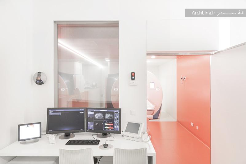 طراحی مرکز تصویربرداری