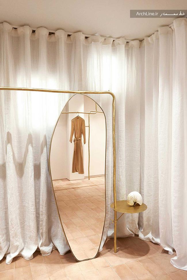 طراحی داخلی شوروم لباس