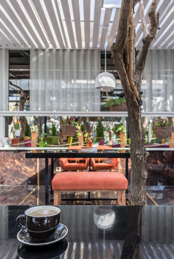 طراحی دیزاین کافه رستوران