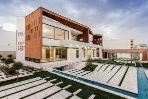 طراحی خانه باغ