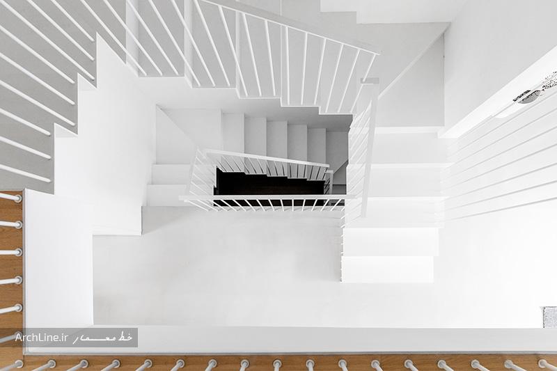 بازسازی داخلی ساختمان سه طبقه