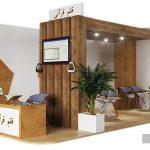 پلان غرفه ی نمایشگاه
