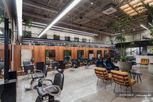 دکوراسیون آرایشگاه مردانه 2020