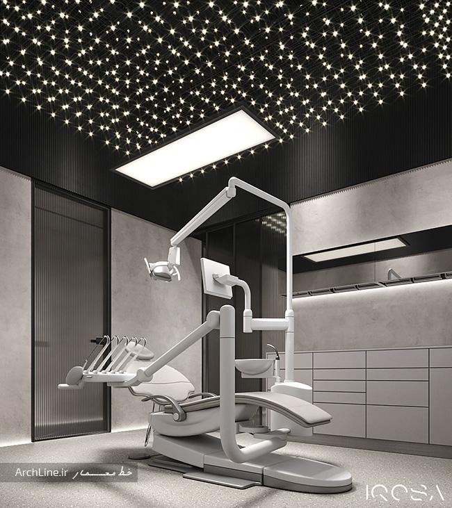 دکور مطب دندانپزشکی شیک