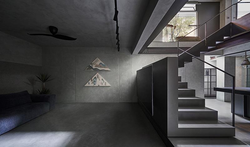 سبک اینداستریال در معماری داخلی