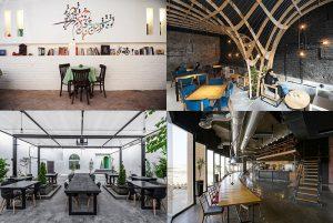 چیدمان داخلی کافی رستوران