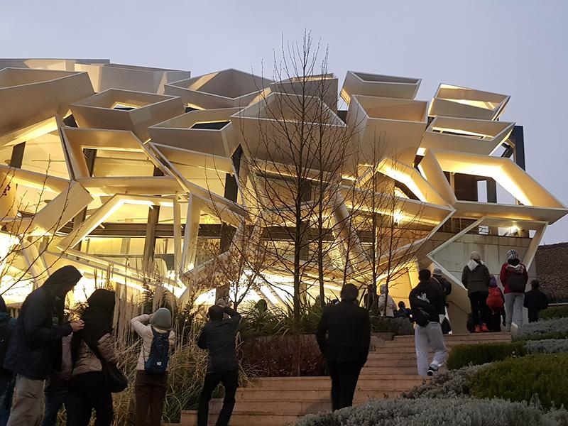 طراحی نمایشگاه سرزمین سبز صدرا