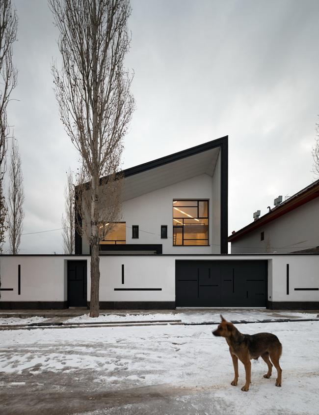 معماری خانه چهارگاه