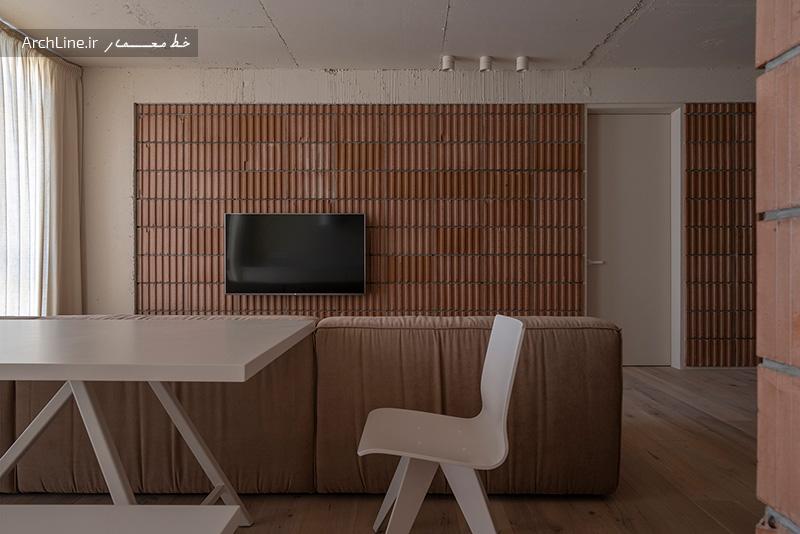 دیوار آجری در دکوراسیون داخلی