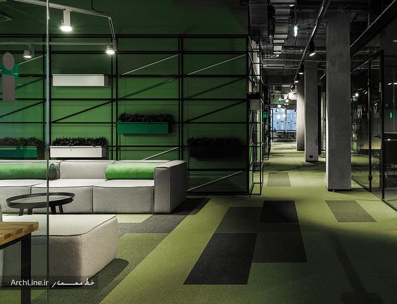 طراحی دکوراسیون اداری مدرن
