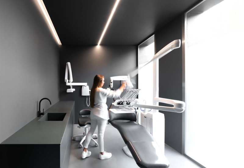 تزیینات مطب دندانپزشکی